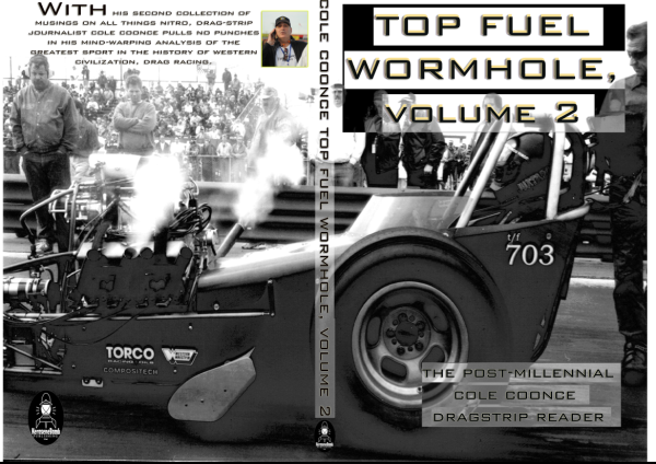 Potential cover for Top Fuel Wormhole, Volume 2